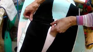 Как зашить дырку на коленке. Ремонт детских штанов