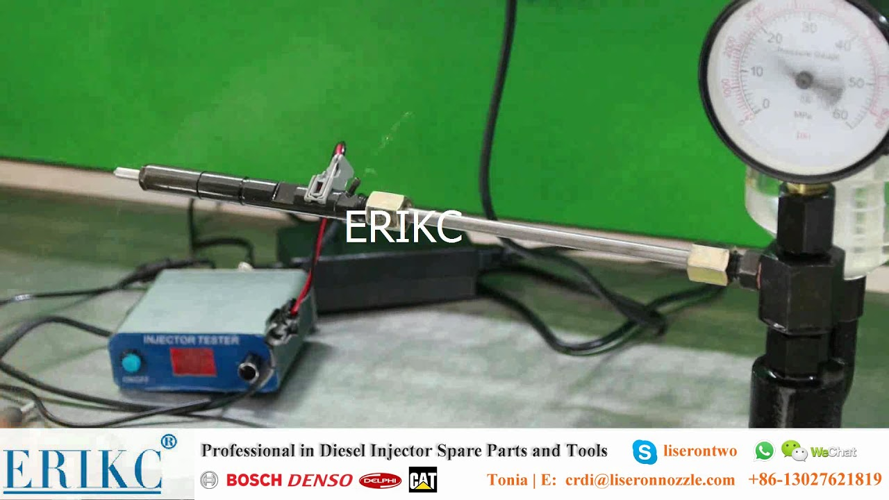 common rail injector tester, BOSCH, DENSO, DELPHI, CAT injector tester