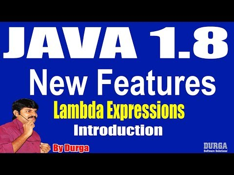 java-1.8-new-features-  -lambda-expressions-  -session---2-by-durga-sir