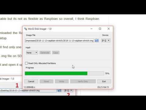 Tut # 01: Install Raspbian on SD Card for Raspberry Pi 3