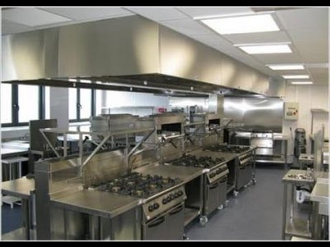 industrial kitchen hood in Commercial hood installation specialists explains - YouTube