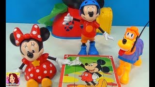 Mickey Mouse Minnie Mouse and Pluto -Cube Puzzle Disney Toys #Mickeymouseclubhouse #TiaCris