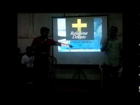 Catholic Church (Bro. RJ Seno) vs Missionary Baptist (Pastor Bernardo)