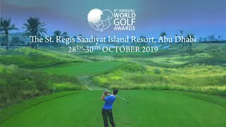 World Golf Awards 2019 highlights