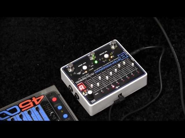 NAMM 2013 - Electro-Harmonix 8 Step Program