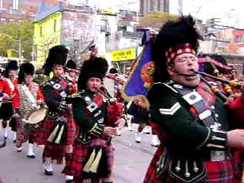 48th Highlanders Rememberance Day 11-11-08
