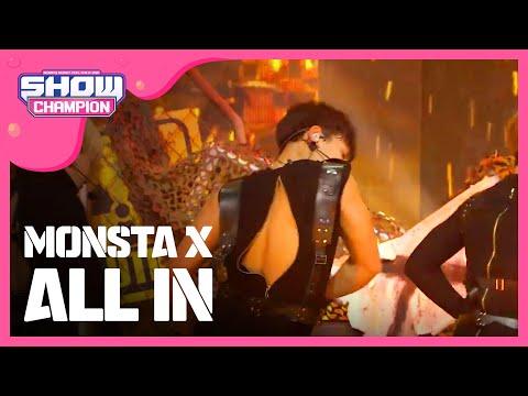 (ShowChampion EP.188) MONSTA X - All In