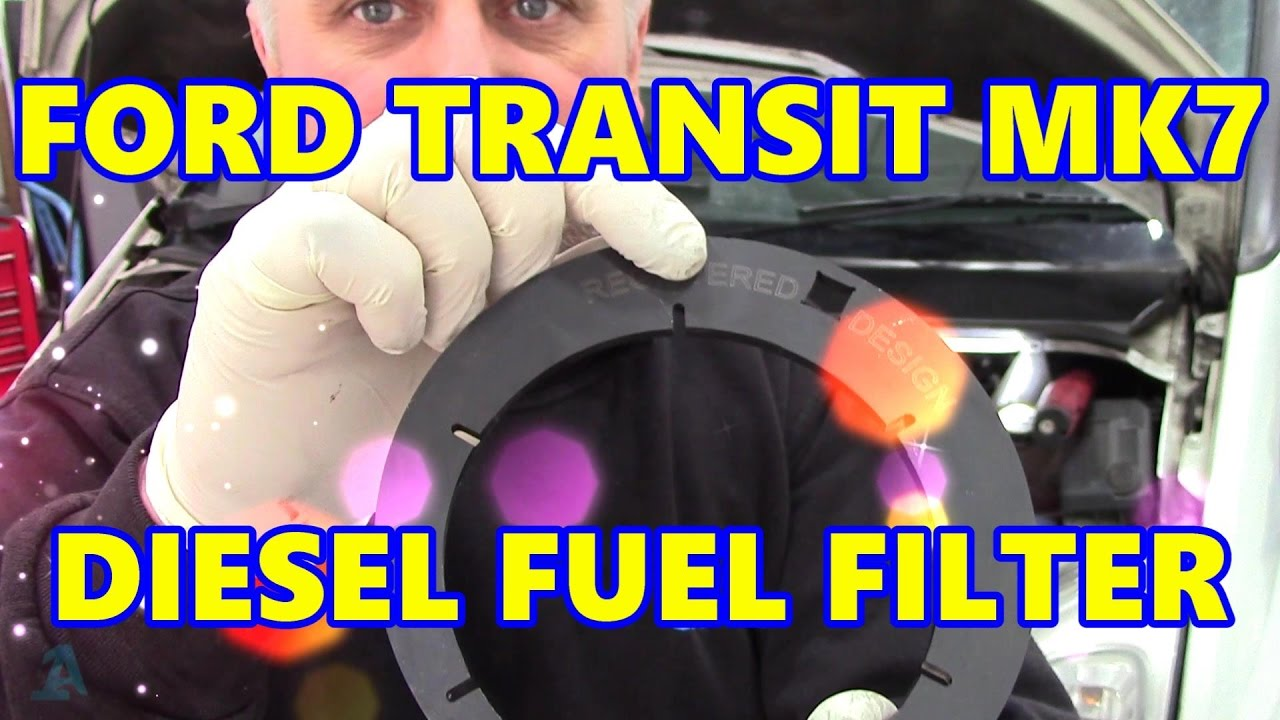 ford transit mk7 diesel fuel filter special tool [ 1280 x 720 Pixel ]