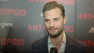 jamie dornan anthropoid premiere interview ny 40816