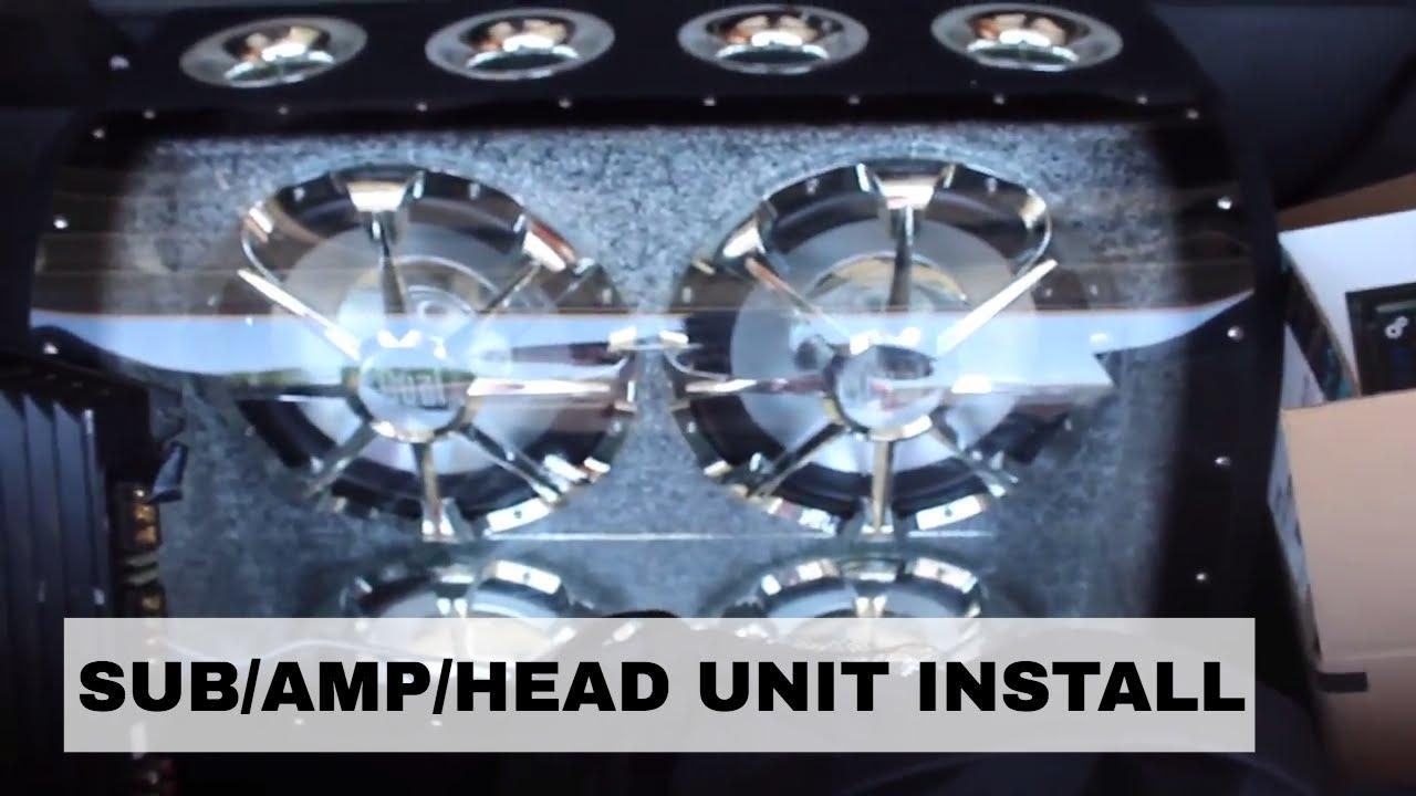 medium resolution of subwoofer amplifier head unit install acura rsx type s