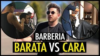 "COMPARACION ""BARBERIA BARATA VS CARA"" | JR Style For Men"