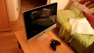 Apple iMac 21.5 unboxing\распаковка от store38