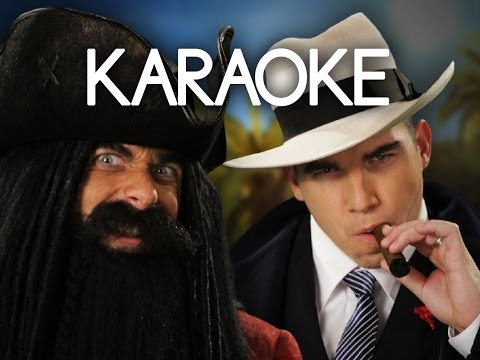 [KARAOKE ♫] Blackbeard vs Al Capone. Epic Rap Battles of History. [INSTRUMENTAL]