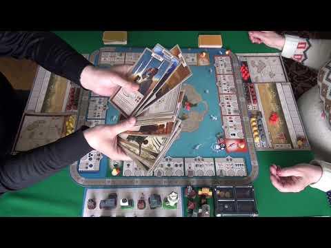 Эпохи 1/2 часть - играем в настольную игру. Tapestry Board Game.