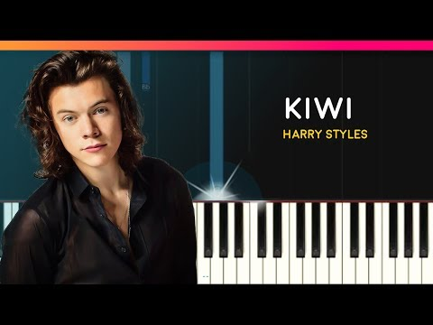 """Harry Styles - """"Kiwi"""" EASY Piano Tutorial - Chords - How To Play - Cover"""