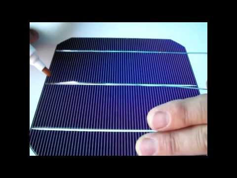 How to - Solar Cells Soldering - Easy Tutorial Part 1