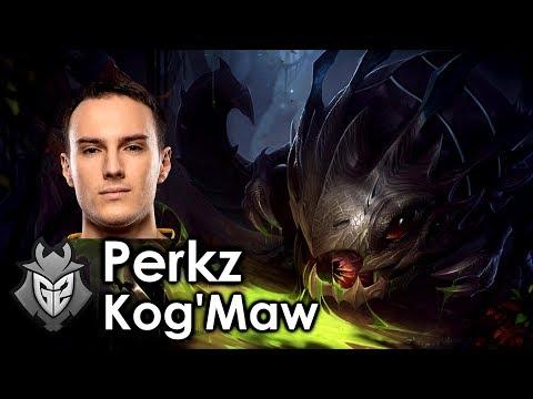 Perkz picks Kog'Maw
