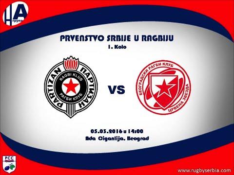 RC Partizan  vs BRK Crvena Zvezda 3-16