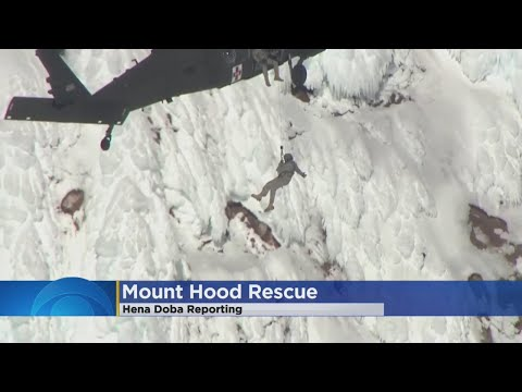 Climber Dies From Massive Fall At Mount Hood, Others Rescued