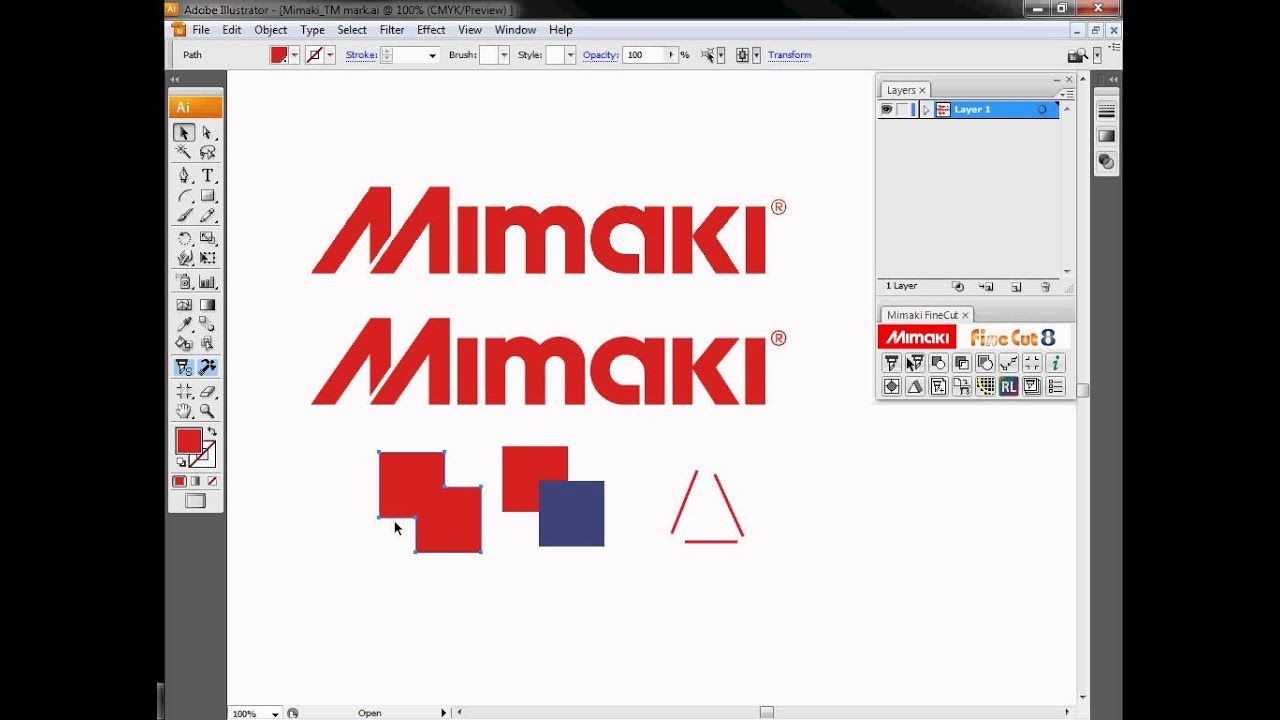 Mimaki CJV30 Series Printer/Cutters Software Overview