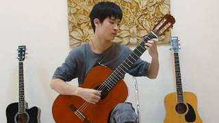 [Lớp học Guitar cổ điển] Van Dao plays Mariage d'Amour by Richard Clayderman