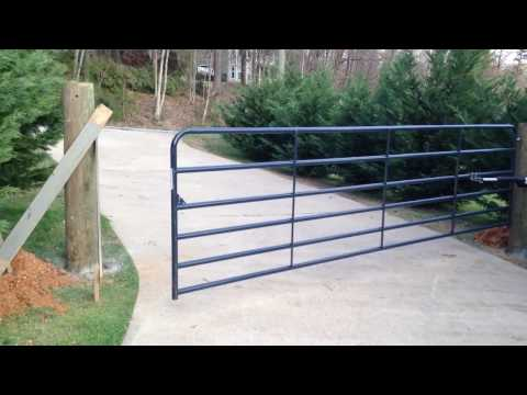 16ft automatic driveway gate for $300