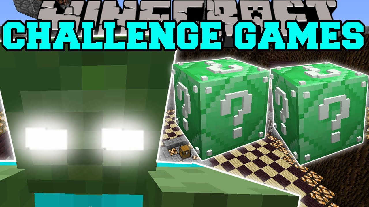 Download Minecraft: ZOMBIE TITAN CHALLENGE GAMES - Lucky Block Mod - Modded Mini-Game