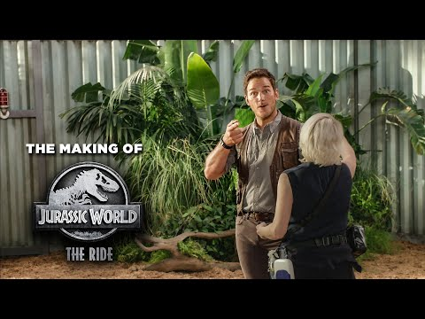 Cliff Bennett - Have You Been On Jurassic WORLD - The Ride?