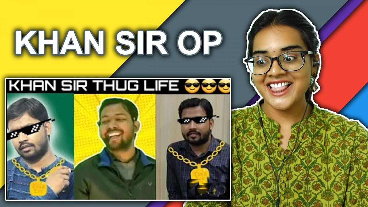 KHAN SIR PATNA COMEDY VIDEOS REACTION | KHAN SIR THUG LIFE | KHAN SIR COMEDY VIDEO || Neha M.