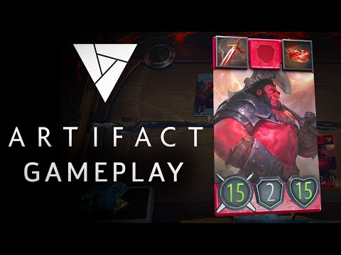 Artifact - 7 Minutes of Exclusive Gameplay | Valve's New Card Game