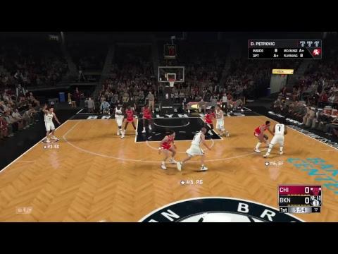 NBA 2K18 DRAZEN PETROVIC GAMEPLAY - YouTube 3044b20bf