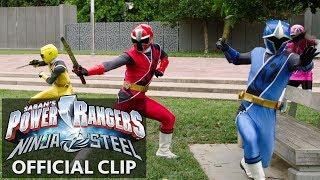 Power Rangers | Ninja Steel Official Clip - Poisonous Plots thumbnail