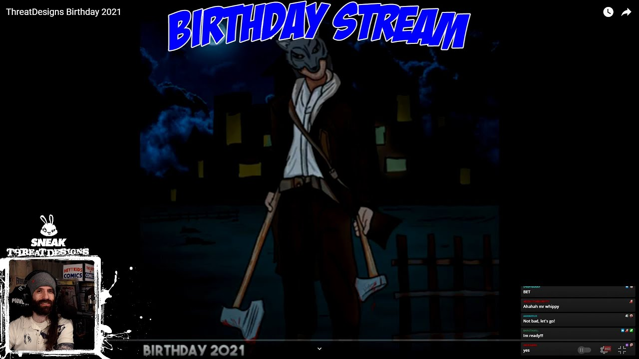 """""""Happy Birthday Bret"""" Live Reaction - 4/13/21"""