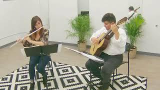 La Partida- arr. Charles Wolzien (Darren O'Neill, guitar & Natasha Loomis, flute)