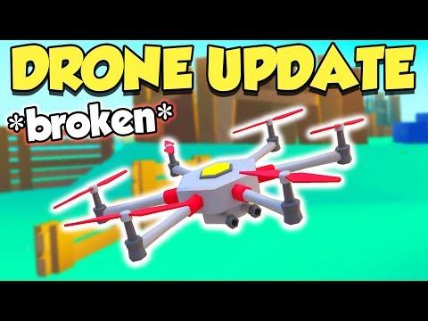 This Update BROKE Drones In Roblox BIG Paintball...