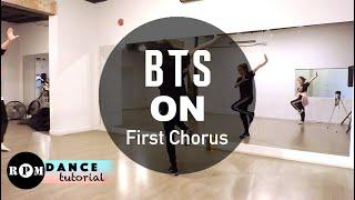 "BTS ""ON"" Dance Tutorial (First Chorus)"
