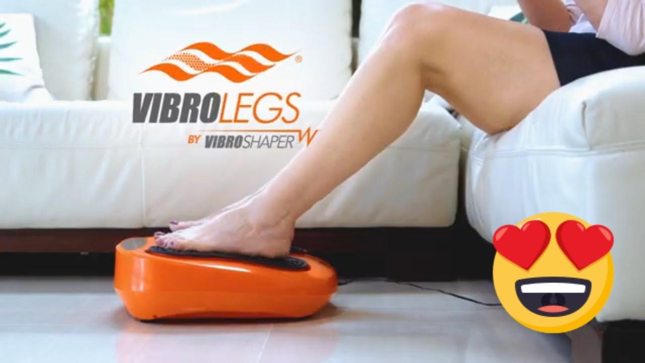 Neu ✅ Händler ✅ VibroLegs Vibrationsplatte Beinmassage Fußmassage mit Fernb