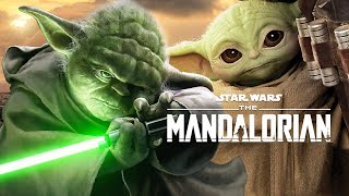 The Mandalorian Season 2 Grogu Baby Yoda Full Jedi History - Ahsoka Tano Star Wars Easter Eggs