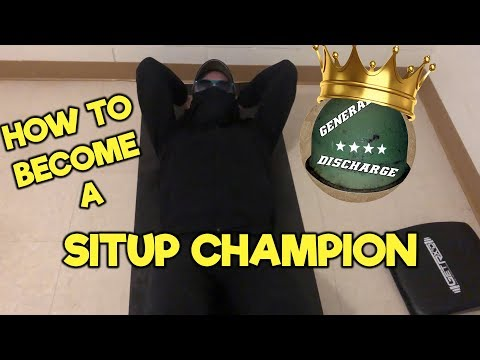 HOW TO BECOME A SITUP CHAMPION IN TWO WEEKS!