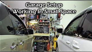 My Garage Setup - Working In Small Space