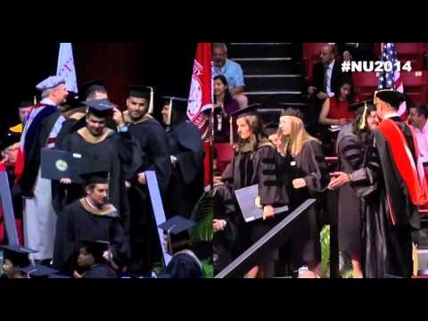 Northeastern University Graduate Commencement 2014