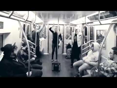 FIGHT CLVB Secret Show on the Subway (NYC)