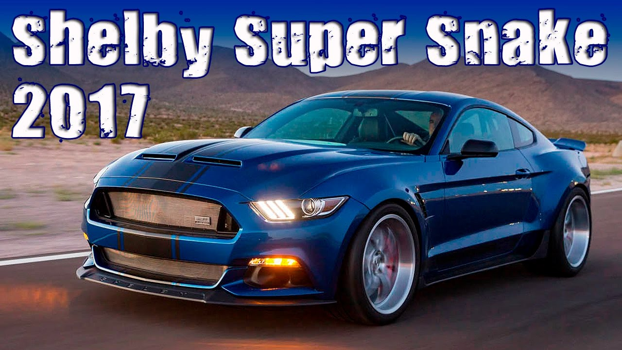 2017 Ford Mustang Shelby Super Snake 750 Hp Wide Body