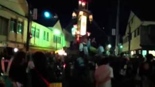 あばれ祭り 2011 新町交差点