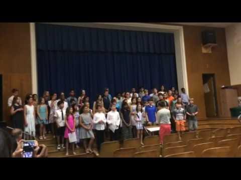 5th grade graduation peirce elementary school
