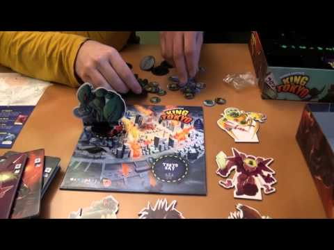 Unboxing King Of Tokyo