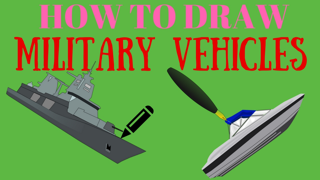 How To Draw Military Vehicles How To Draw Military Vehicles For Kids  Minecraft
