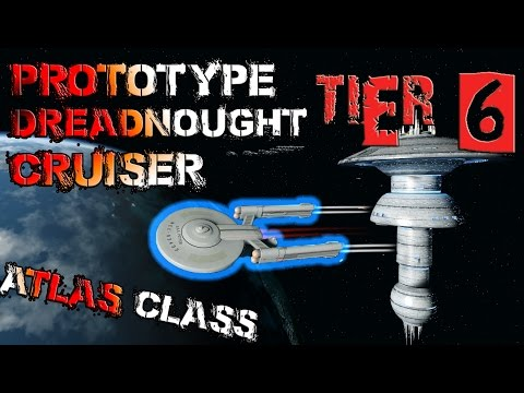 Prototype Dreadnought Cruiser [T6] – Atlas Class – with all ship visuals - Star Trek Online