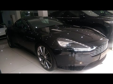 Aston Martin Virage Start Up & Review Indonesia