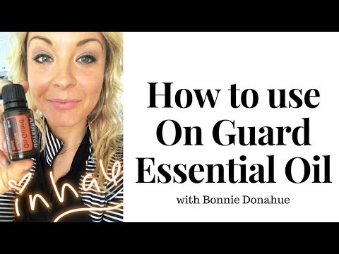 How to Use your OnGuard Essential Oil